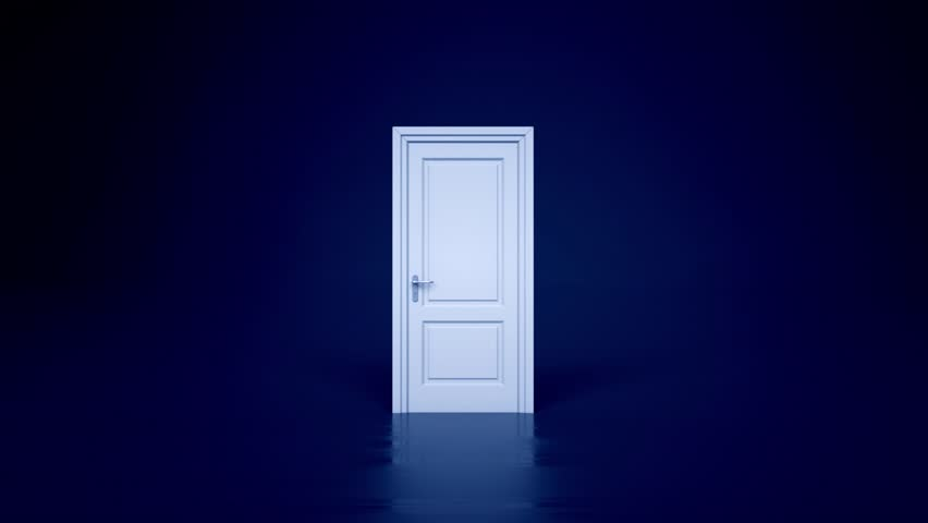 hd00123d opening doors real estate background light at the end & Stock video of 3d opening white doors on black | 12177875 | Shutterstock