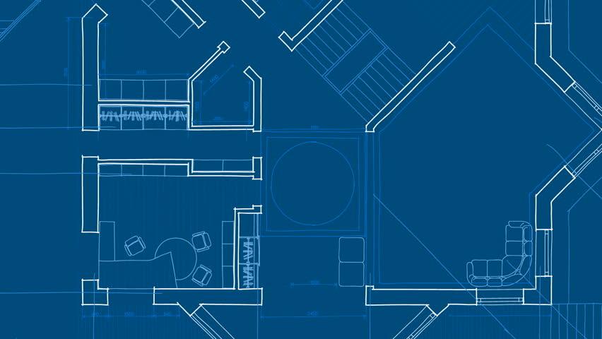 Architecture blueprint | Shutterstock HD Video #1227064