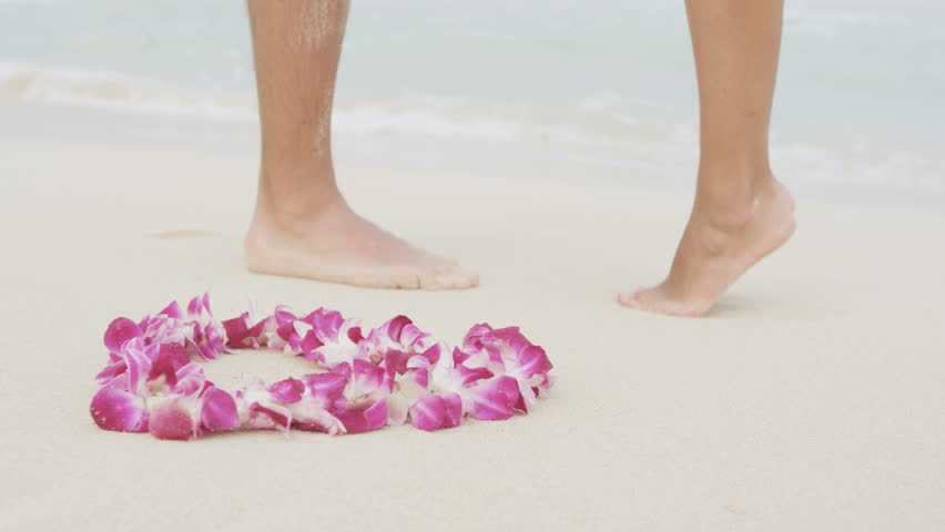 Marriage Proposal Casual Couple Beach Wedding Concept Man