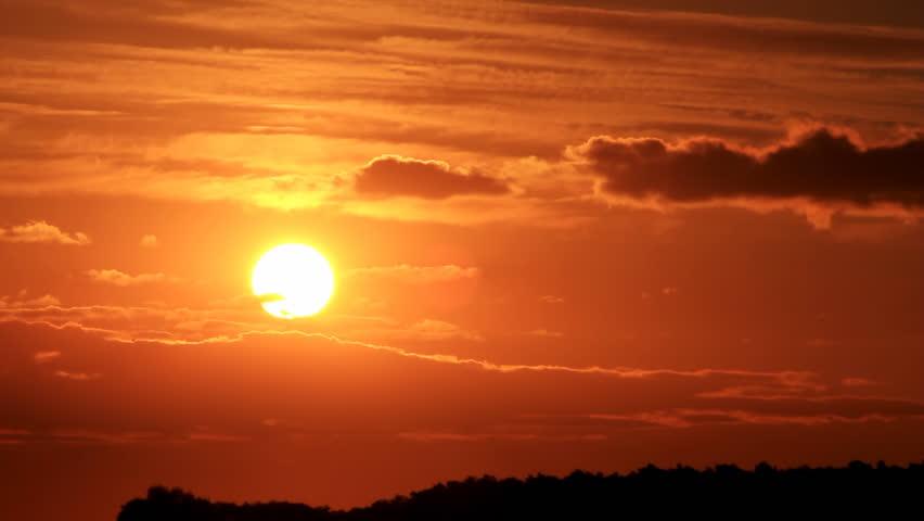 Cloudy sunset #1237402