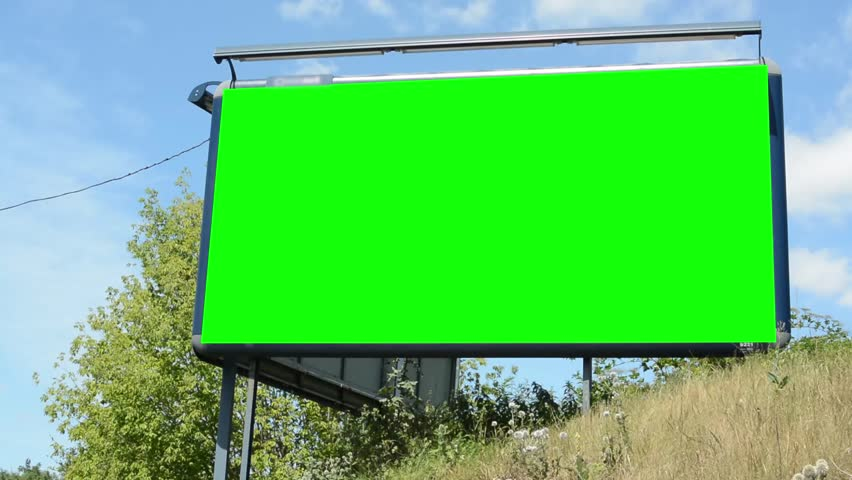 Large Billboard in the Countryside Stock Footage Video (100% Royalty-free)  12445442   Shutterstock