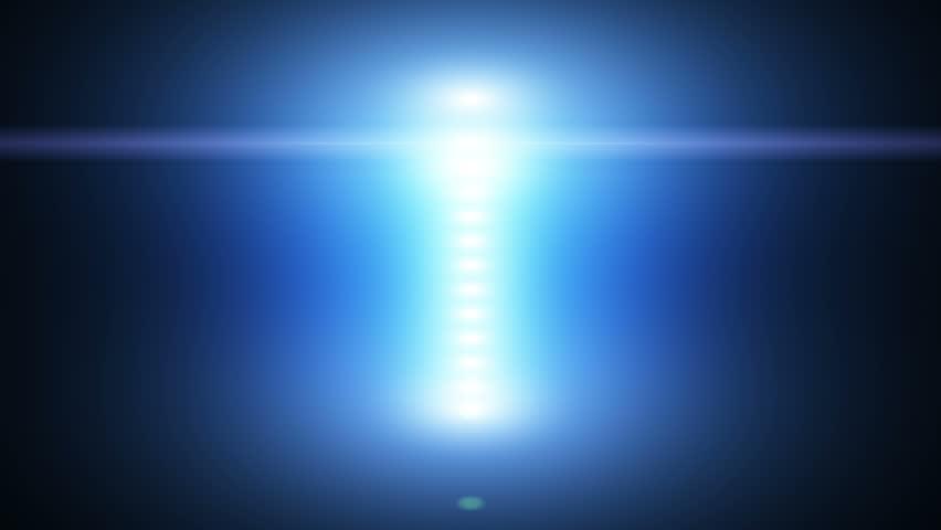 Vertical Lens Flare Reveal