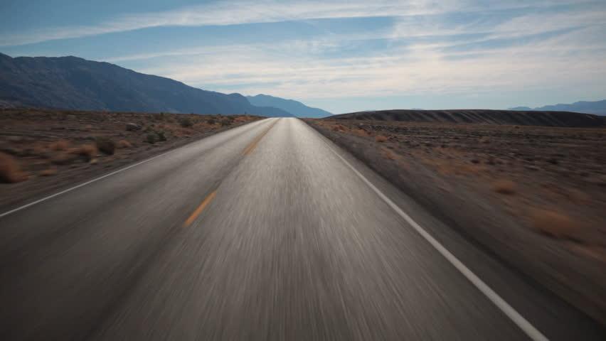 Open road POV