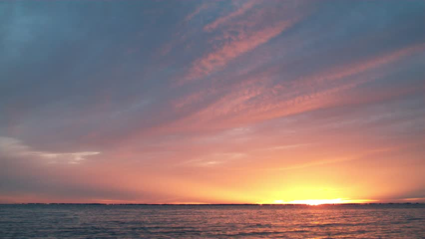 Morning Sunrise Over Water #12654332