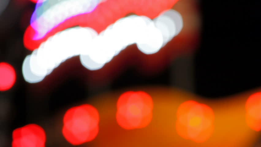 Glassy and colorful circular shapes, blurred lights, video background | Shutterstock HD Video #12695672