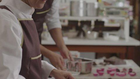 Chocolate-making factory