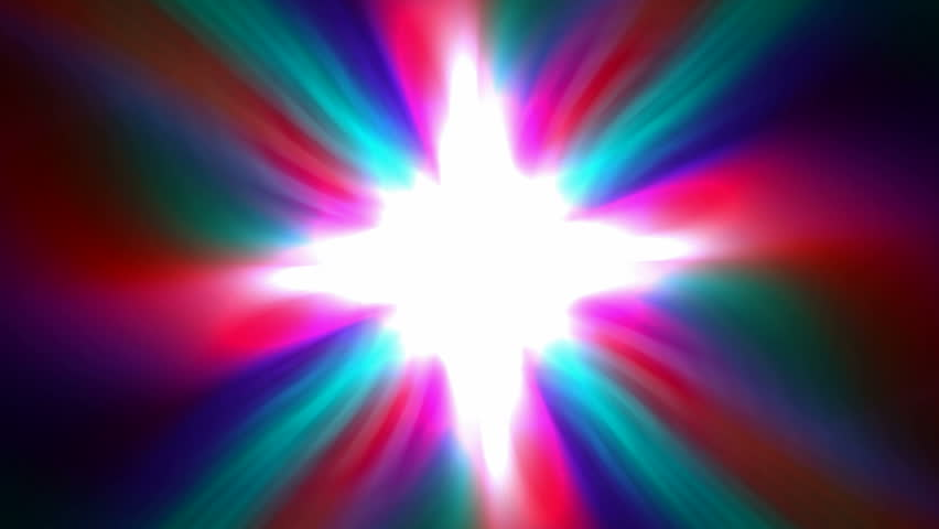 color dazzling fiber optic and cable in space,rays light laser and tech scifi energy field in cosmos.