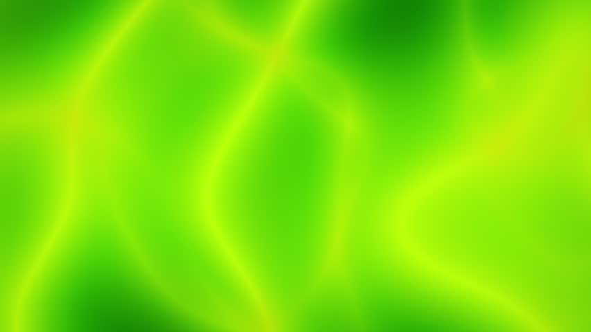 Flowing Green Smooth Abstract Fractal Background Loop 5