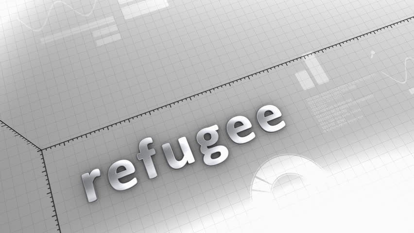 Computer generated, growing chart refugee crisis. | Shutterstock HD Video #12951932