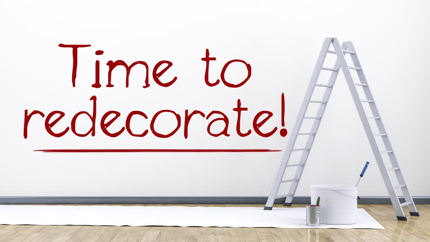 Good Stock Video Clip Of Animated Text Over An Interior Background Time |  Shutterstock