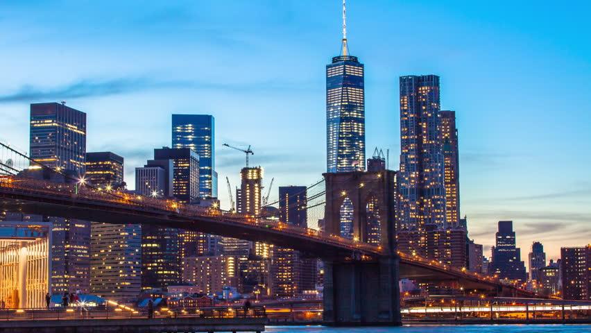 New York Lower Manhattan Long Stockvideos Filmmaterial 100