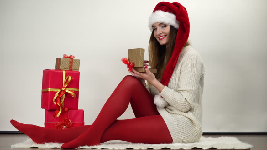 Recommend christmas pantyhose video