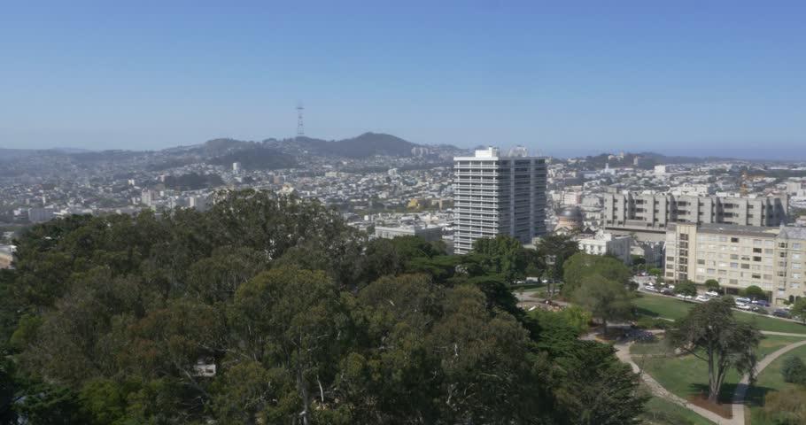 Aerial Shot of Downtown San Francisco, California ( San Francisco- July 2015) | Shutterstock HD Video #13359272