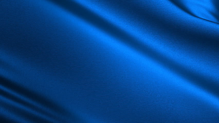 Abstract background in the form of a fluttering silk fabric of dark blue color | Shutterstock HD Video #1339402