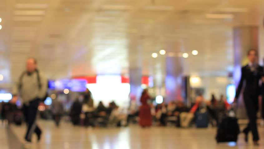 Anonymous crowd of walking people | Shutterstock HD Video #13406762