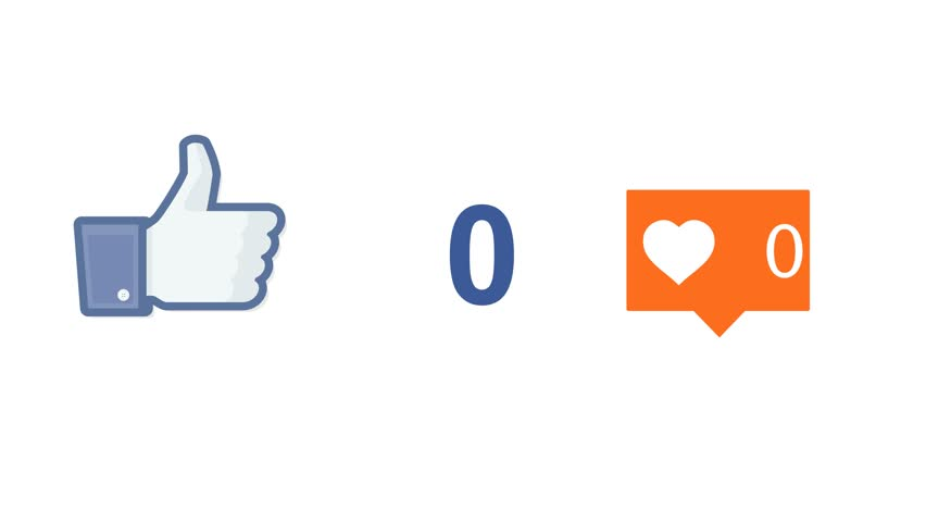 "NEW YORK - DECEMBER 21, 2015: Instagram facebook social media button like ""liles"" button"