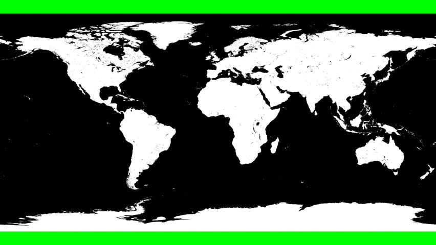 World map wraps and unwraps from flat projection to cylinder and world map wraps and unwraps from flat projection to cylinder and then sphere in a loop green screen black and white stock footage video 13451282 gumiabroncs Choice Image