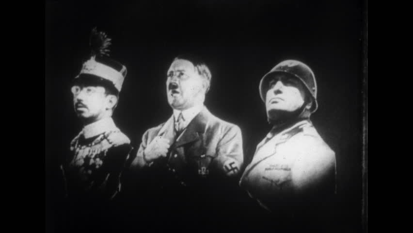 GERMANY, 1930s: Hitler Giving Passionate Speech
