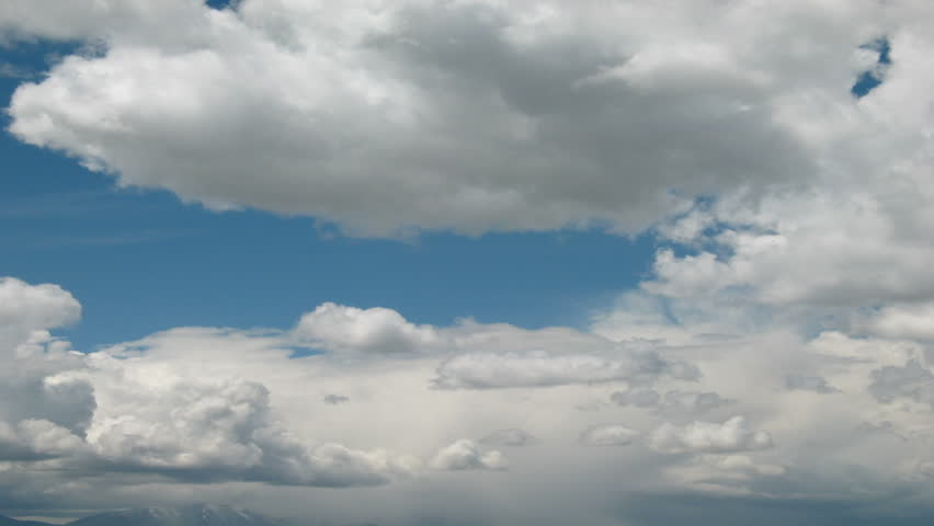 billowy  Billowy Time Lapse White Clouds Stock Footage Video (100% Royalty ...
