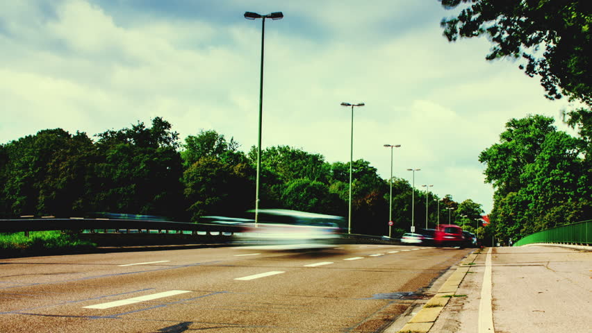 Munich Traffic Time lapse | Shutterstock HD Video #13707812
