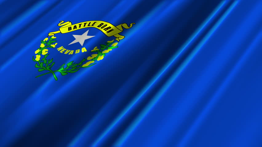 nevada flag loop 2 stock footage video 1373392 | shutterstock