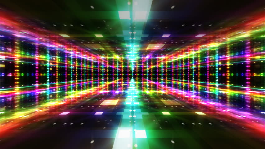 Disco Dance Floor Background Loop Stock Footage Video 100