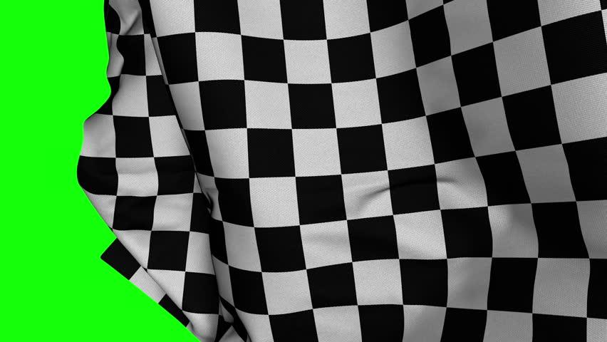 Transition of Winning Checker Finishing Flag