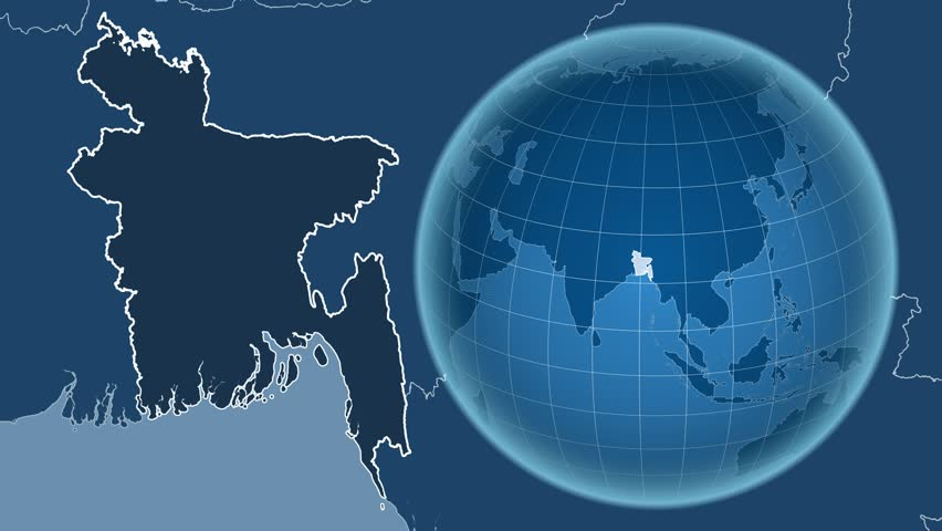 Bangladesh shape animated on the admin map of the globe stock bangladesh shape animated on the admin map of the globe stock footage video 13962092 shutterstock gumiabroncs Image collections