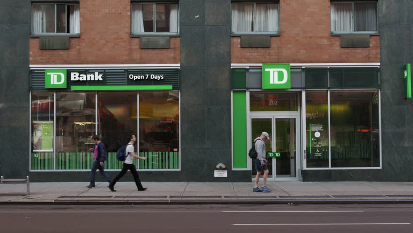 Td Bank Footage Stock Clips