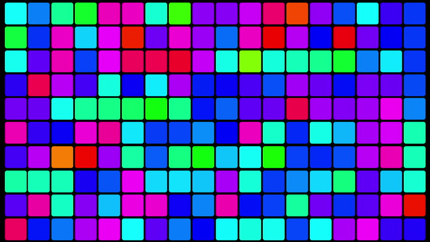 Colorful 80s Club Dancefloor Background With Glowing Light