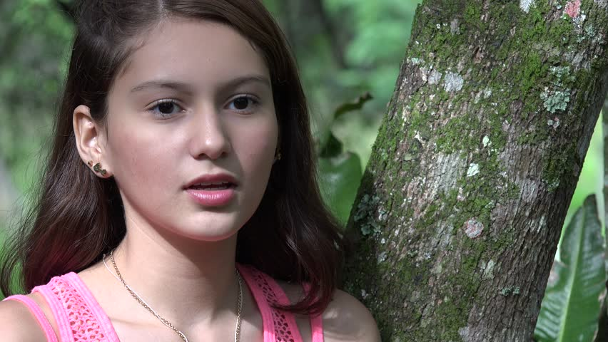 Sad And Lonely Teen Girl Stock Footage Video 14244257  Shutterstock-2254