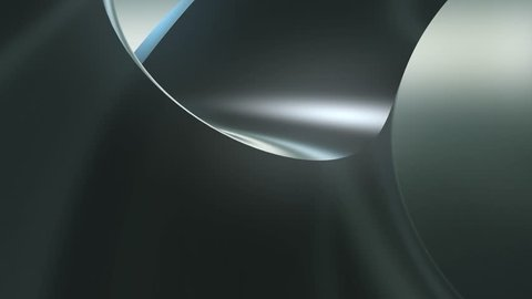smooth flowing dark silky 3d abstract background