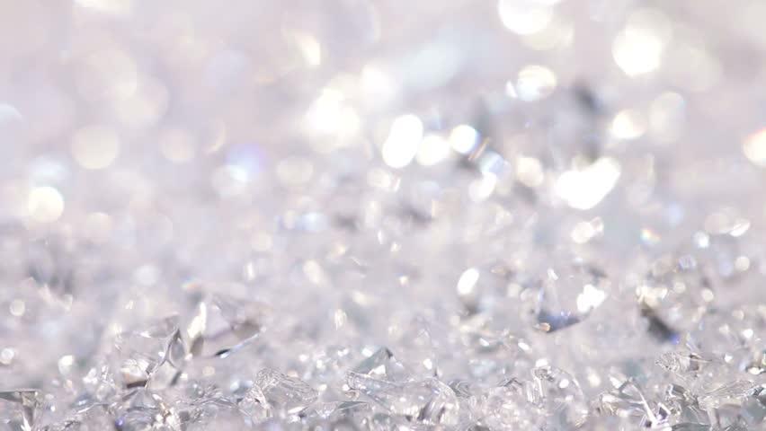 Sparkling White Diamonds
