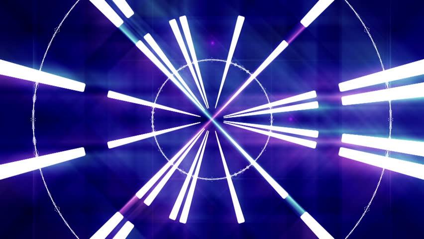 Wallpaper Hd Light Effect Wallpaper: Neon Lights Star Squares Tunnel Loop