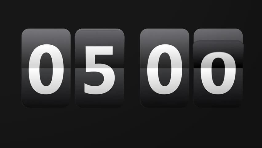 24 Hour Clock Stock Footage Video | Shutterstock