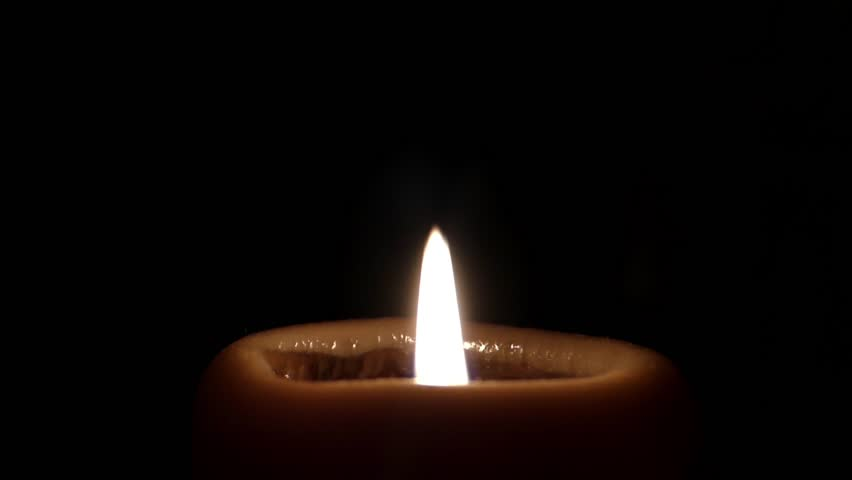 Two Candles In Dark Room Stock Footage Video 100 Royalty Free