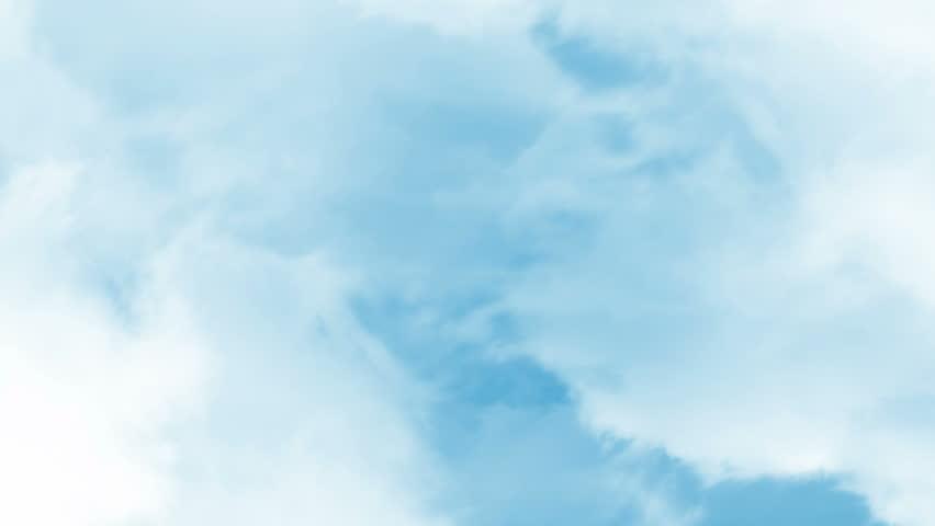 Fly between realistic clouds in the sky in loop   Shutterstock HD Video #14384812