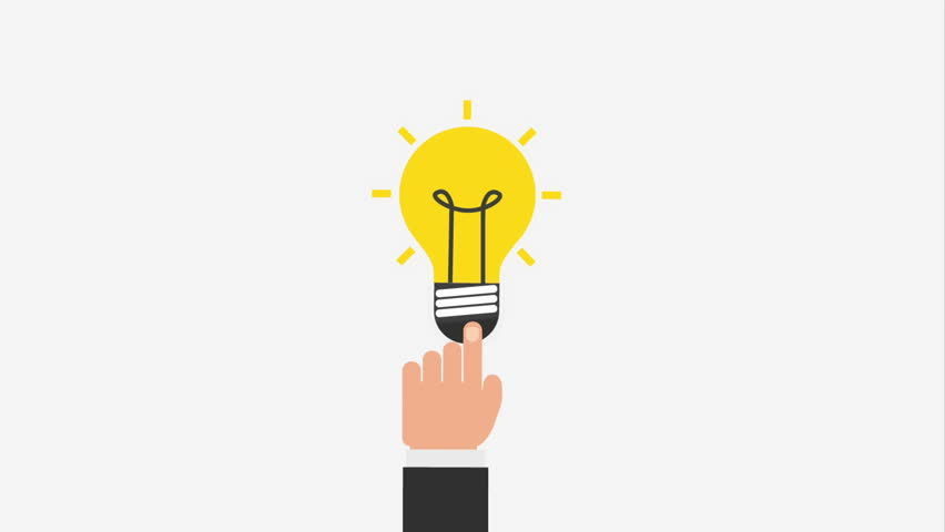 Bulb Icon Video Animation Stock Footage Video 16271008