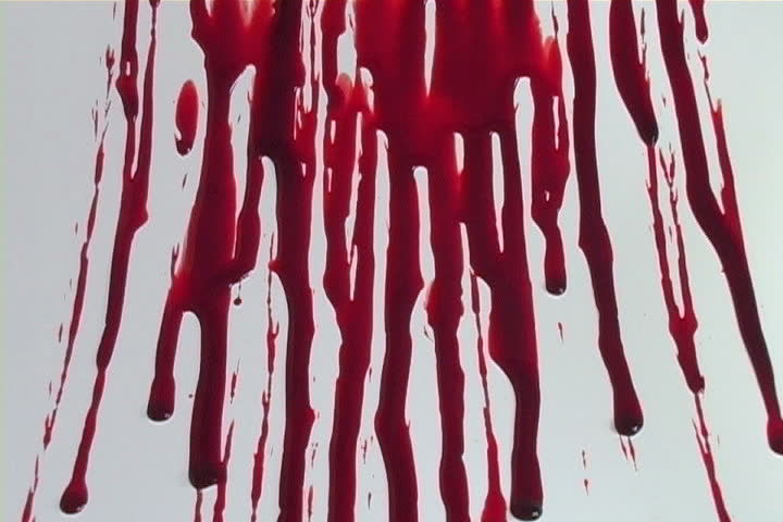 Dripping blood background