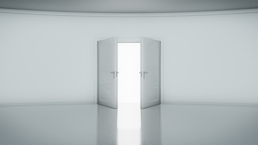 4K Door Opening with white background (alpha matte). You can replace background. & Opening Doors In Modern Elevator. Loopable Stock Footage Video ... Pezcame.Com