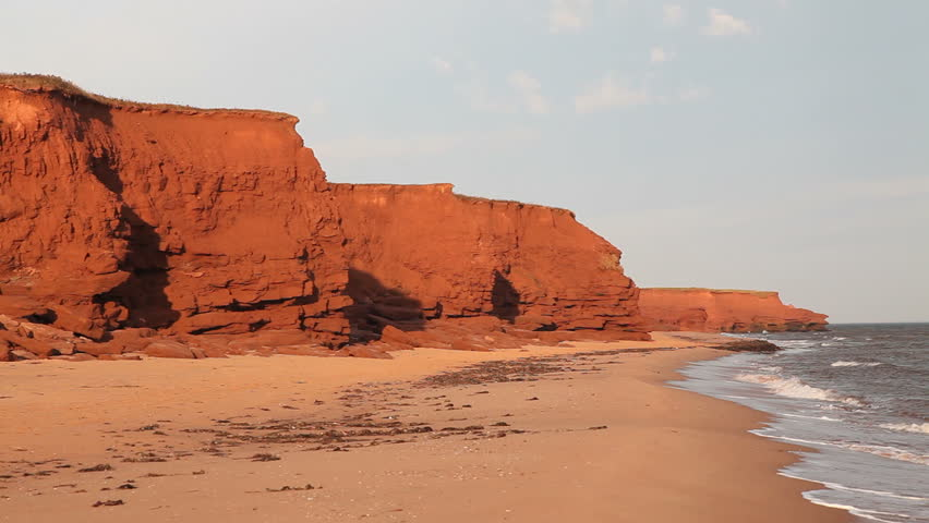 Image result for Prince edward island beaches red