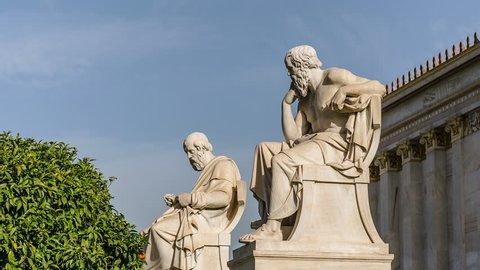 Greek Philosophers Plato and Socrates