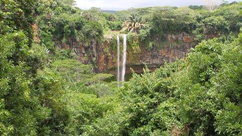 Chamarel Waterfall. Mauritius