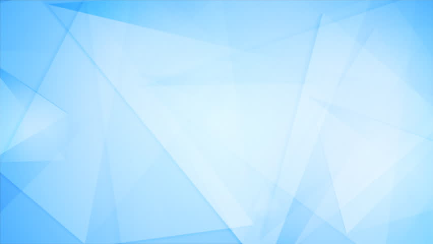 Blue Tech Geometric Polygonal Motion Background. Video Corporate ...