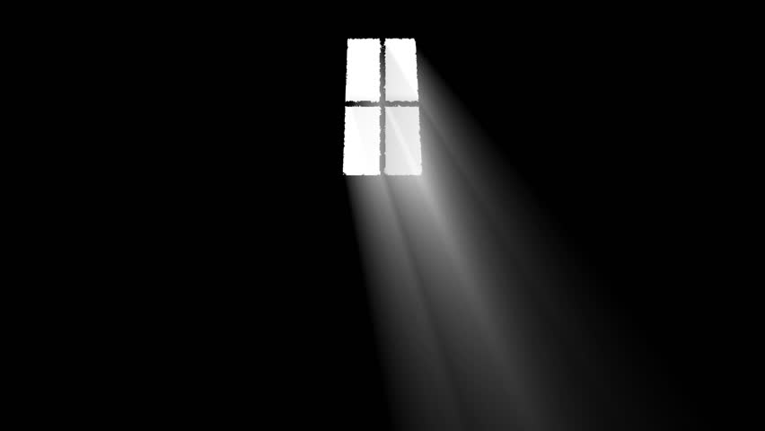Door Opening And Illuminating A Dark Room And A Business