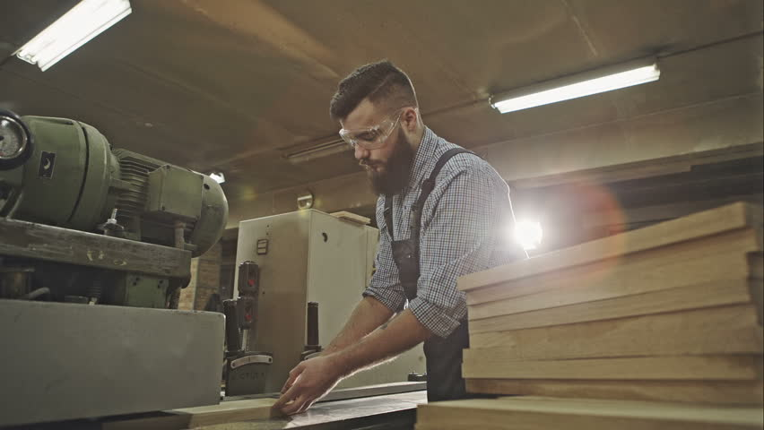 ... Industrial carpenter worker operating wood folding machine during wooden door furniture manufacturing. RAW video record ... & Wooden Door Free Video Clips - (48 Free Downloads) pezcame.com