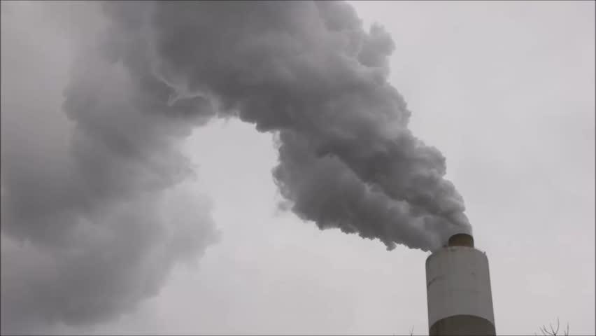 coal smoke stack