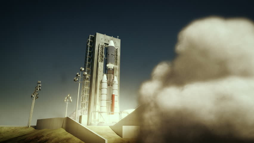 Nasa Titan 3e Centaur launches with voyager probes from Cape Canaveral in the morning.