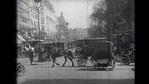 EUROPE 1900s: 1914 London Transport