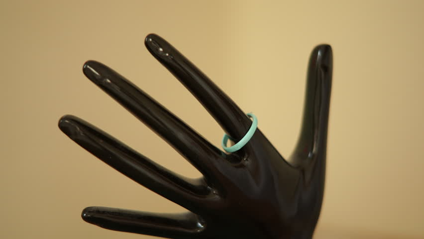 Hand shaped ring